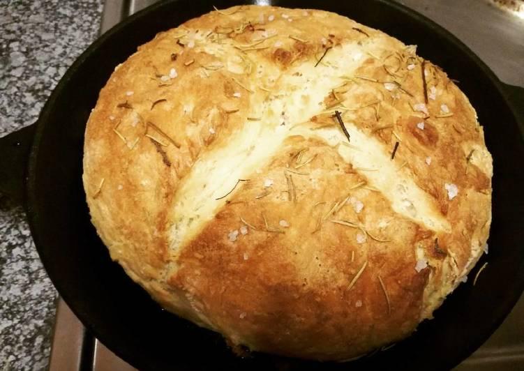Vegan skillet bread