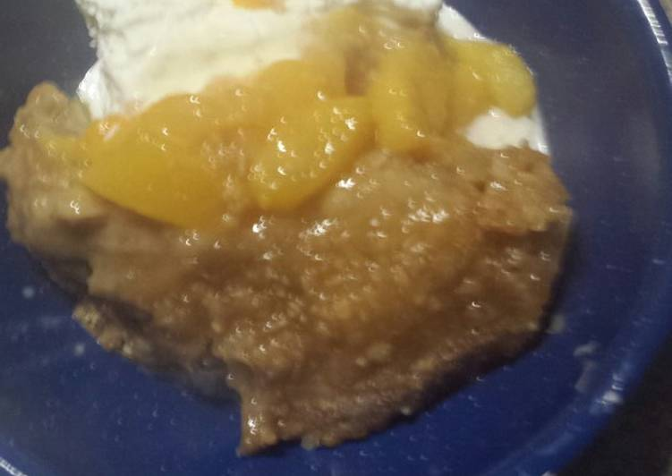 How to Make Any-night-of-the-week Peachy cobbler