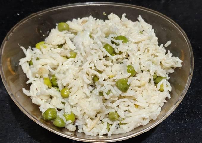 Recipe of Favorite Peas Pulao