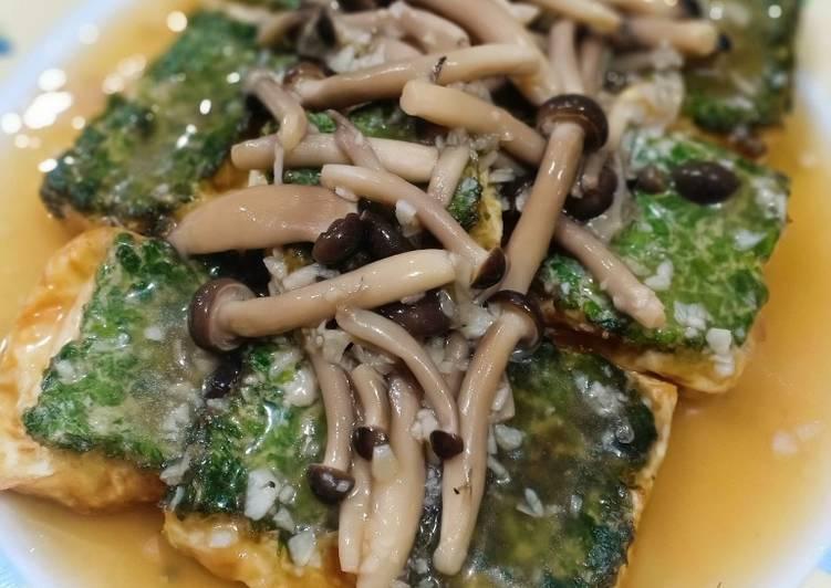 Resep Tahu Jamur Saos Tiram Oleh Kitchen S Diary Cookpad