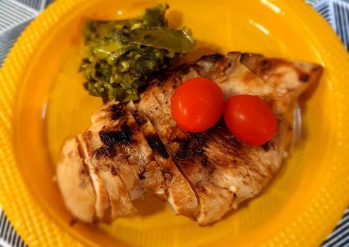 Ayam bakar cabe ijo – menu sehat