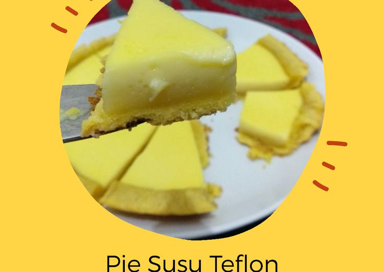31. Pie Susu Teflon