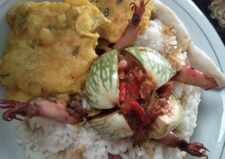 Nasi Liwet Magic Com Simple