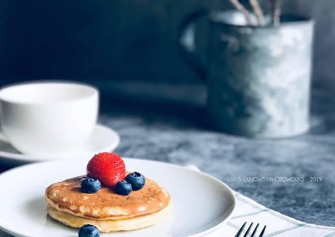 Pancake Mudah Lembut dan Gebu