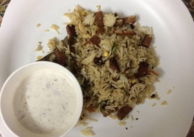 How to Make Super Quick Homemade Yummy chicken salami rice