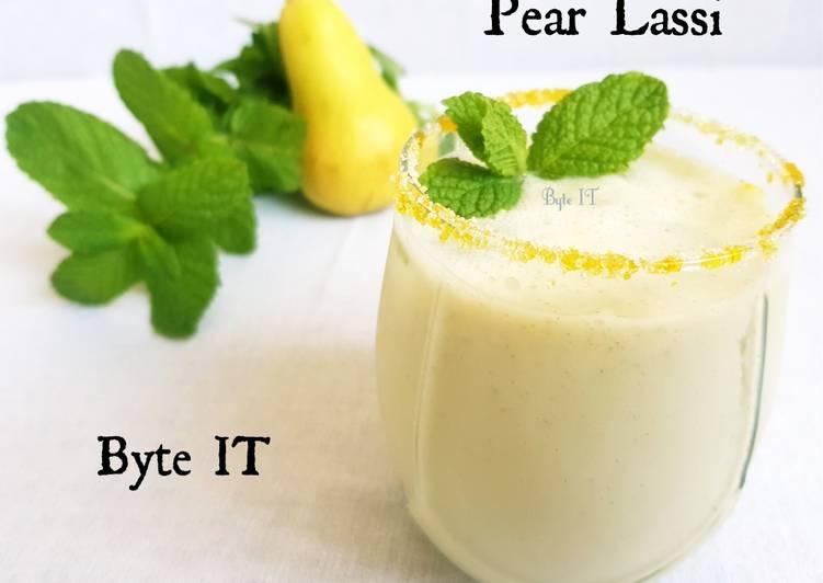 Recipe of Perfect Pear lassi