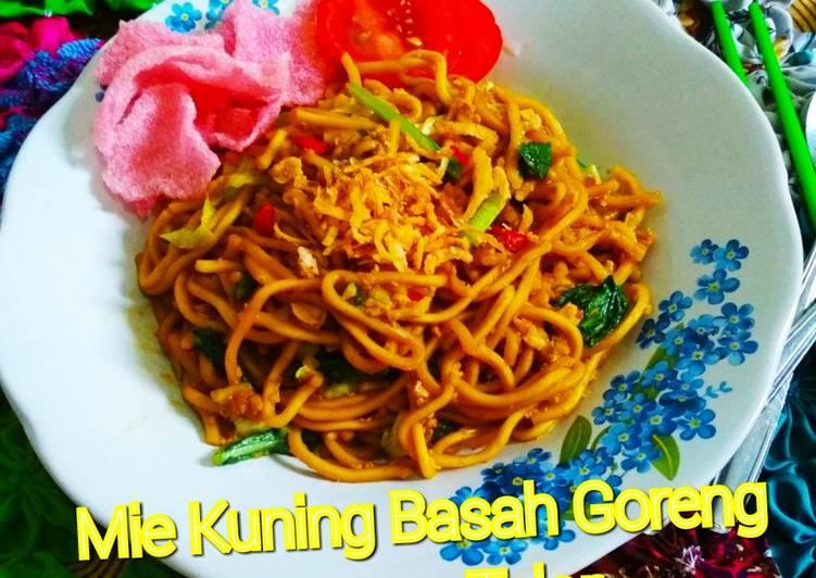Resep Mie Kuning Basah Goreng Campur Telor Oleh Ayu Hutauruk Cookpad