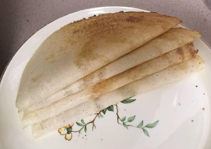 How to Make Tasty Dosa (Indian Rice Crepe), Dosa batter #mycookbook