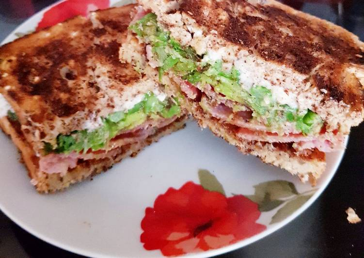 Recipe: Delicious My lovely Toasted Sandwich 💜