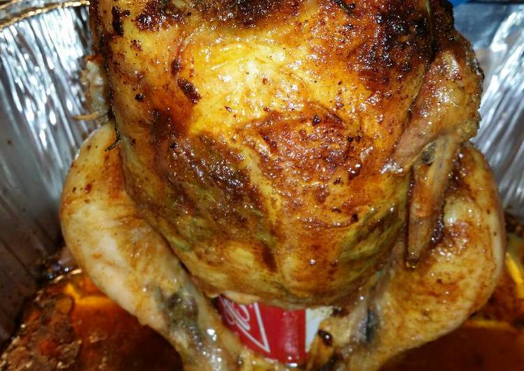 Steps to Prepare Award-winning Beer butt chicken