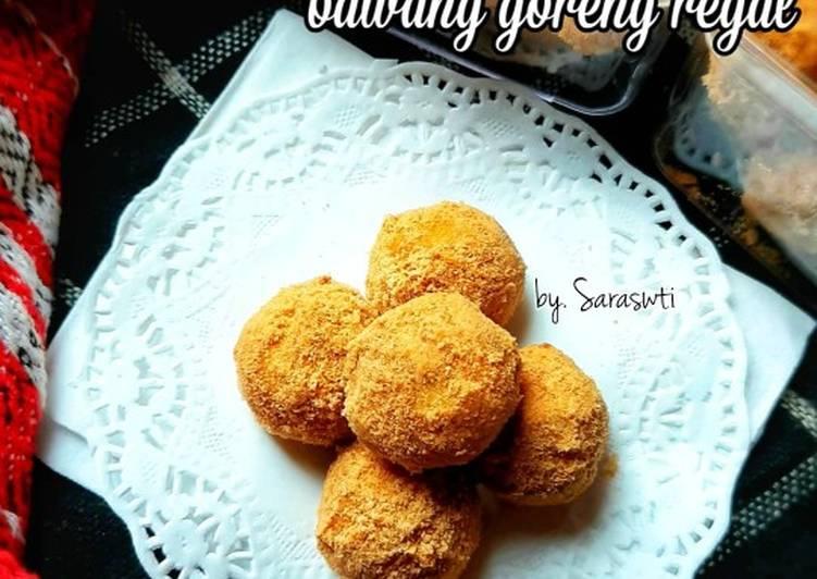 Kue kering bawang goreng regal - cookandrecipe.com