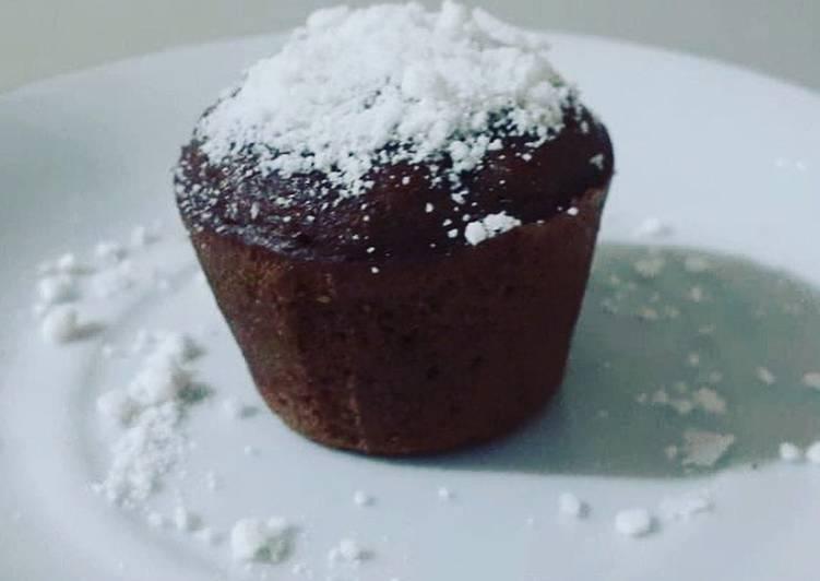 Resep milo lava cake