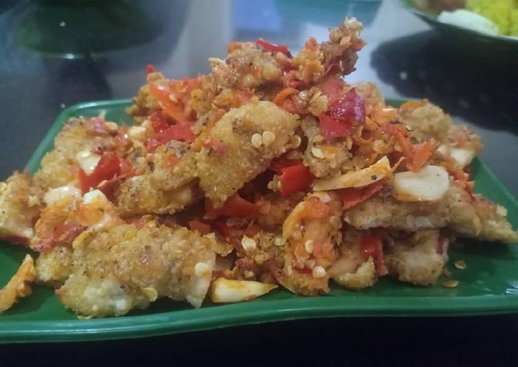 Ayam geprek untuk diet