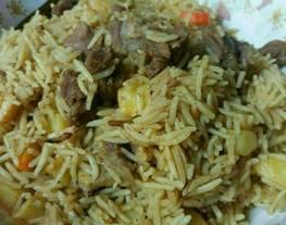 Nasi Kabsa (Nasi Kebuli)