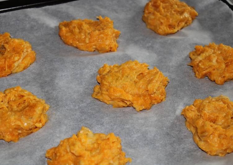 Recette Des Galettes de patate douce crousti-moelleuses