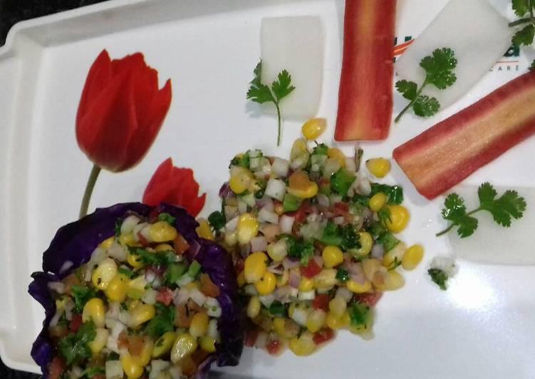 Recipe of Quick Sweet corn salsa (salad)