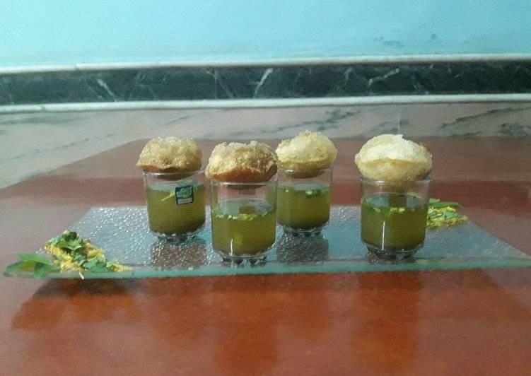 10 Minute Dinner Ideas Homemade Puchkaa…..pani puri
