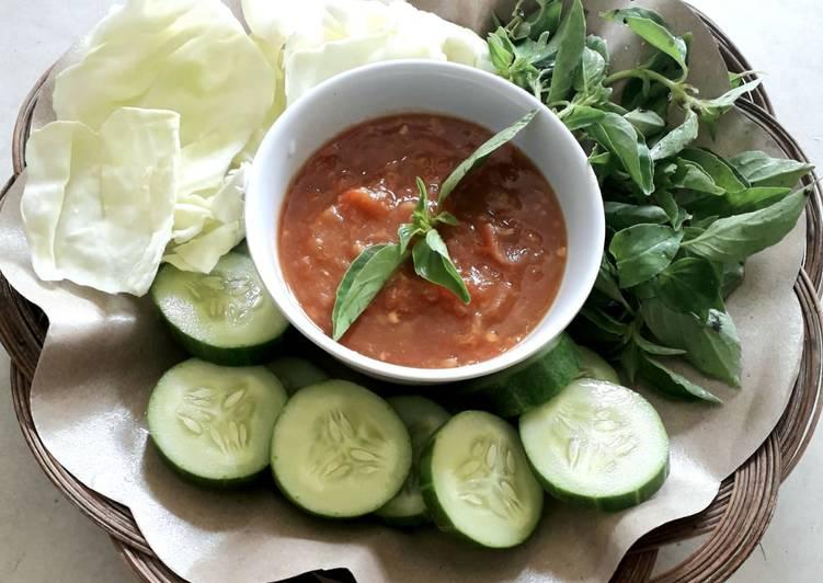 Resep Sambal Rebus Tomat Yang Populer Bikin Nagih