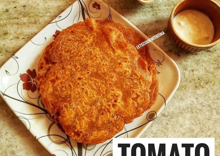 Recipe of Perfect Tomato Paratha