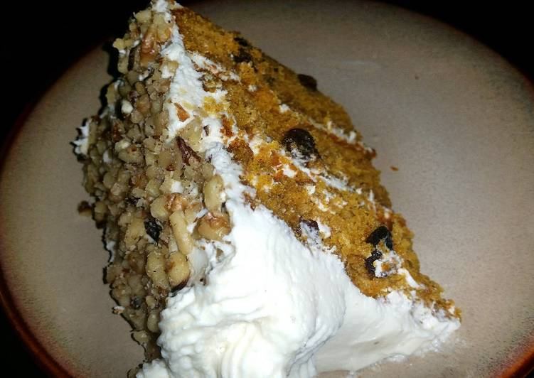 Recipe: Perfect Pumpkin Spice Cake