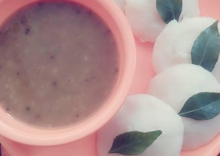 The Best Dinner Easy Fall Idli sambar 😘