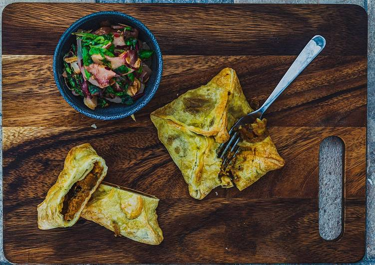 Step-by-Step Guide to Make Most Popular Butternut Squash Pockets with Pears Lamb's lettuce