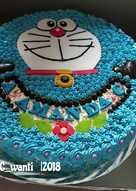 34 Resep Kue Ulang Tahun Doraemon Enak Dan Sederhana Cookpad