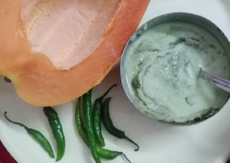 Simple Way to Prepare Any-night-of-the-week Papaya Dip