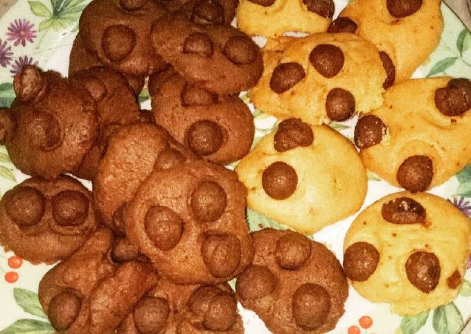 Cookies chocolatos cheese
