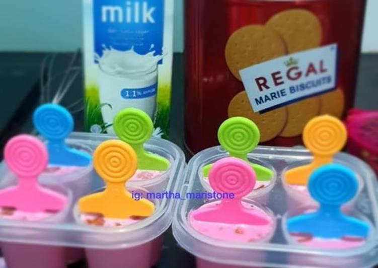 Cara membuat Es krim susu rendah lemak