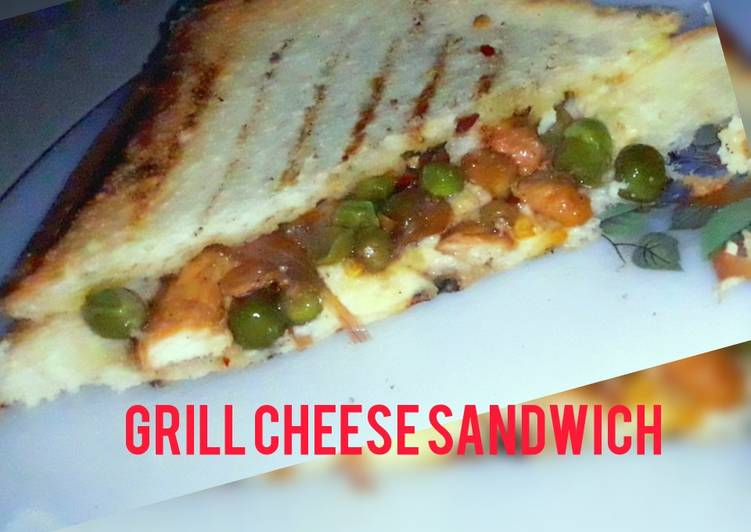 Recipe of Speedy Grill Chicken Cheese Sandwich