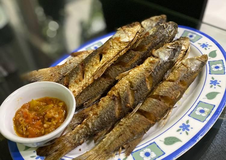 Ikan blanak goreng