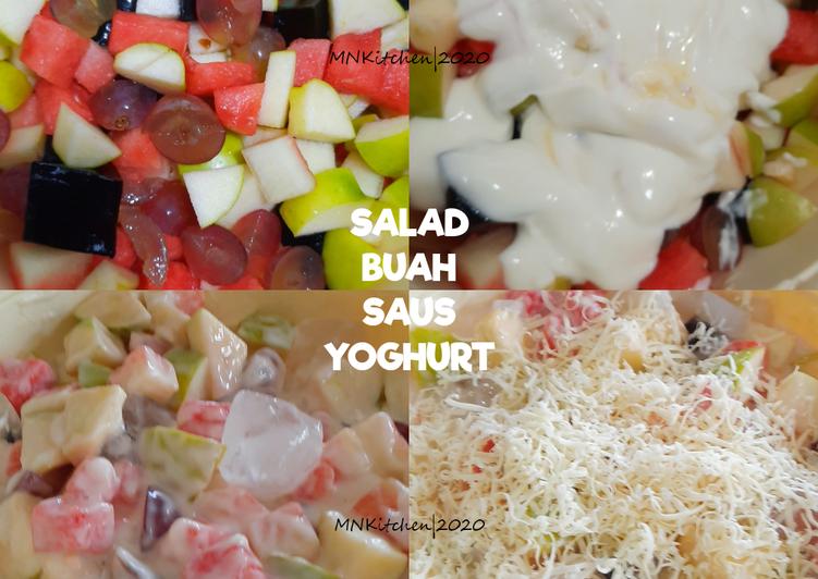 Salad Buah Saus Yoghurt