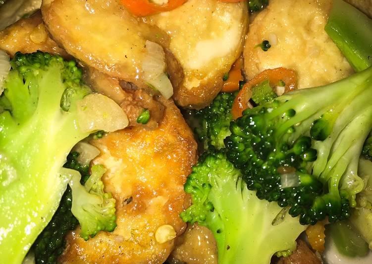 Cah Brokoli Tofu