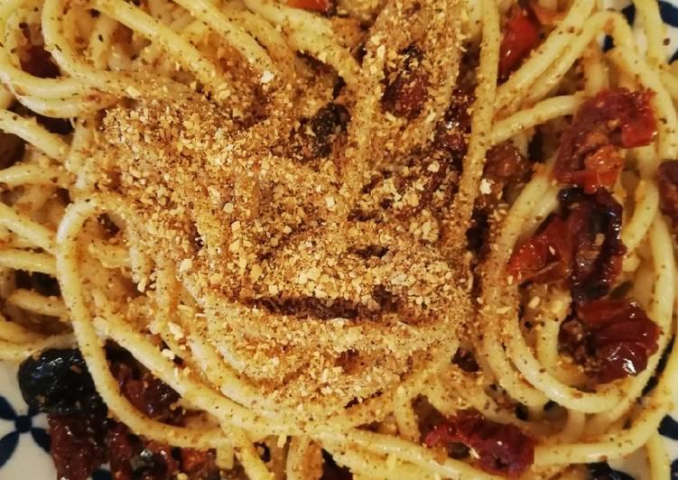 Spaghetti aglio olio peperoncino e..