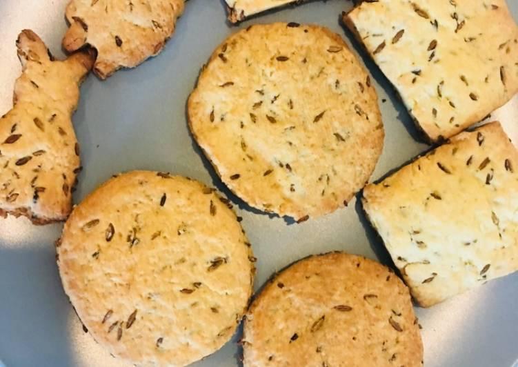 Cumin cookies/ Jeera biscuits