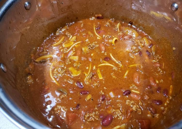 Recipe: Perfect Amber's Favorite Chili
