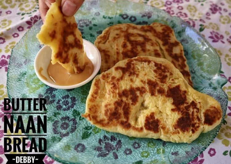 Resep Butter Naan Bread Paling Mudah