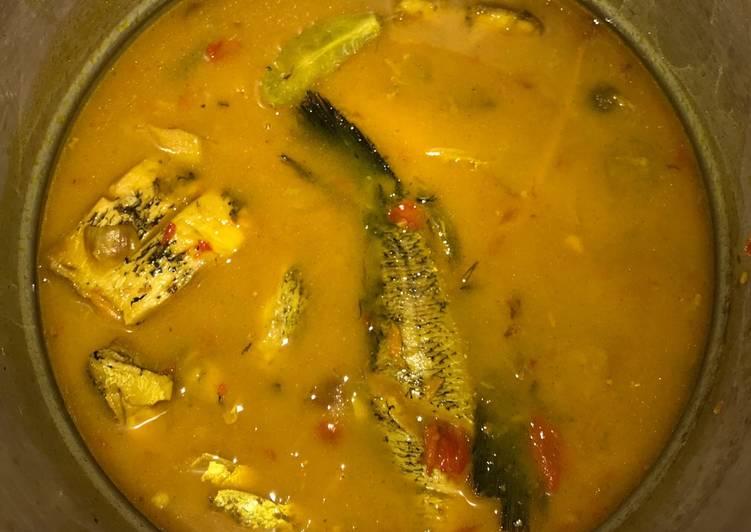 Resep Ikan Gabus Kuah Kuning Asam Oleh Aisha Mikaila Sinaga Cookpad
