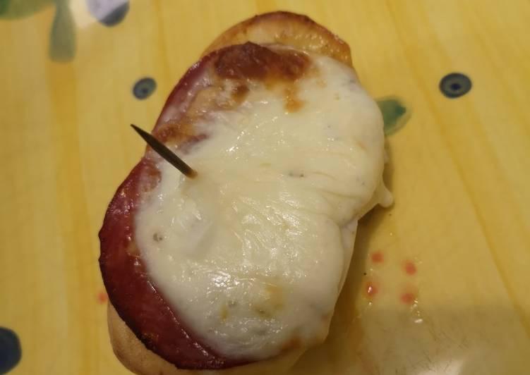 Pomme de terre chorizo mozza gratinée