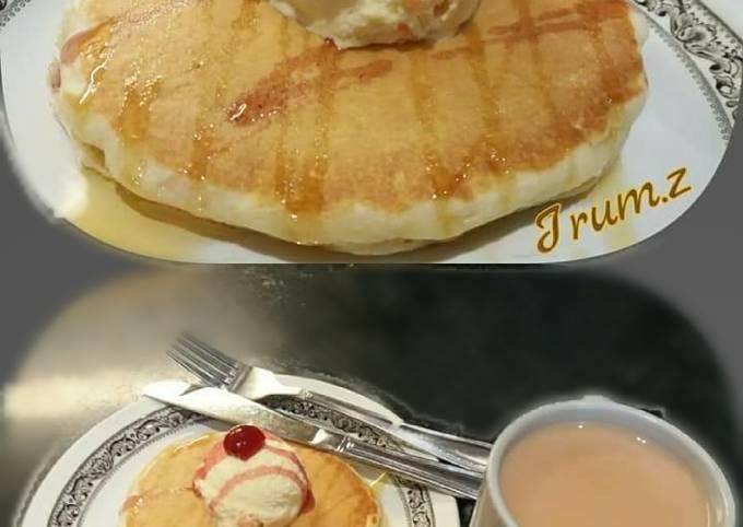 Simple Way to Make Jamie Oliver 🍳🌯🍽 Simple Vanilla Pancakes 🍽🌯🍳