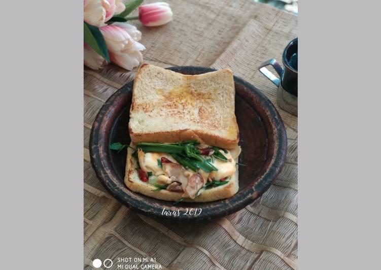 Resep Banh Mi Sandwich Vietnam isi Ayam ala Laras Top