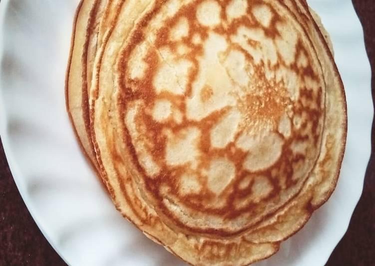 Recipe of Any-night-of-the-week Lemon pancakes
