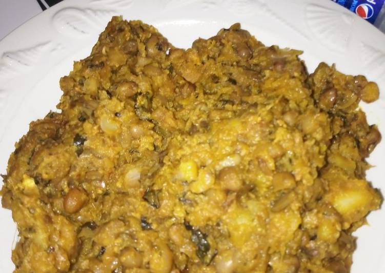 Beans with Ripe Plantain