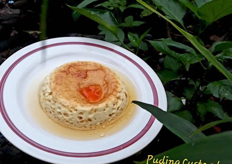 Puding Custard Caramel ЁЯНо