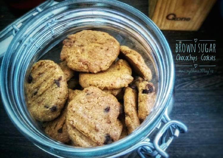 Brown Sugar Chococips Cookies #BuatRamadhanBerkesan