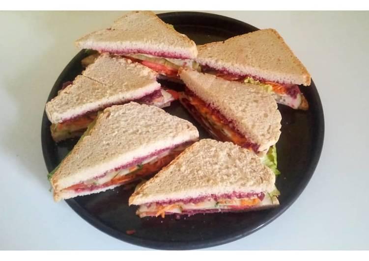 Sandwich vegan ??