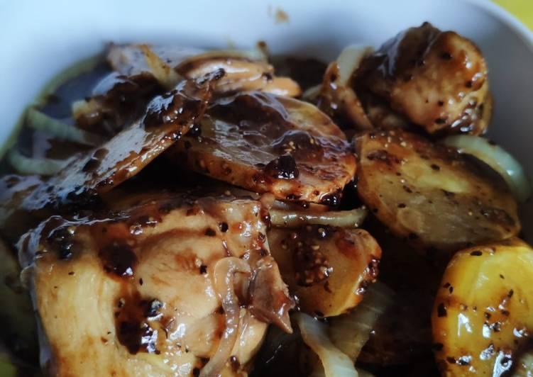 Ayam Masak Lada Hitam Kaboom