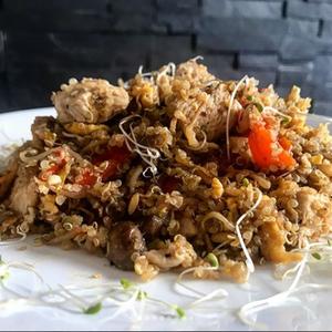 Quinoa al wok