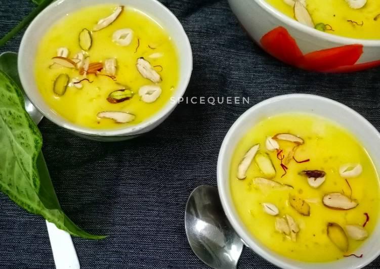 Rice Custard Pudding